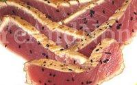 Pan-seared ahi tuna