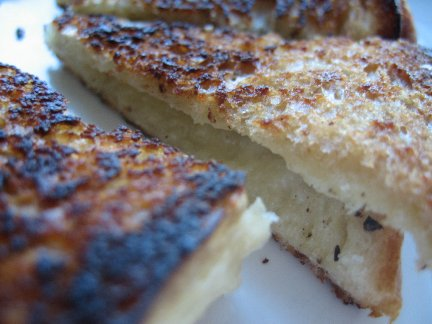 Grilled Parmigiano Reggiano Cheese Sandwich