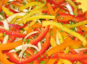 Three Pepper Salad