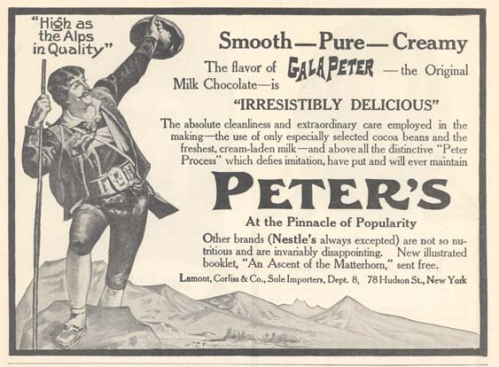 Peters Gala Chocolate