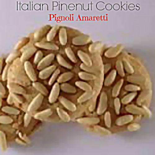 Italian Pignoli Amaretti Cookies