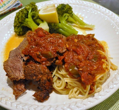 Braised Italian Cross Rib Roast