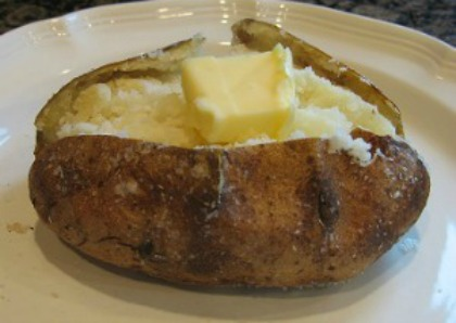 Perfect Baked Potato - No-Foil Baked Potato