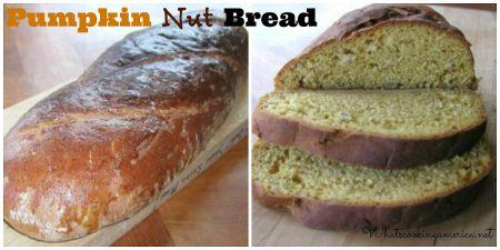 Pumpkin Nut Yeast Bread