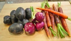 Roasted Vegetables - Ingredients
