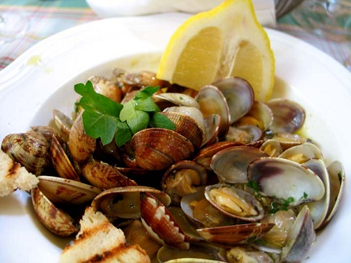 Spanish Steamed Clams