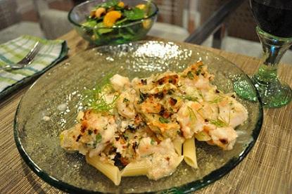 Creamy Seafood Casserole