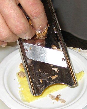 shaving truffles