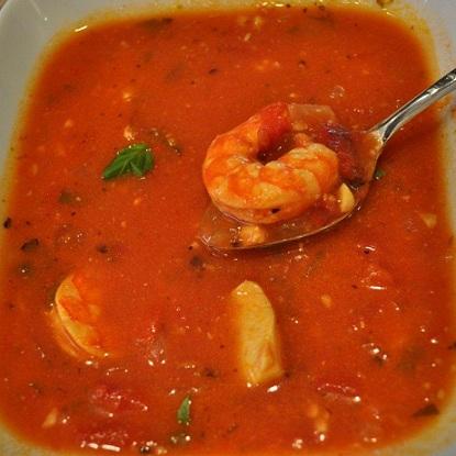 Shrimp and Scallop Soup