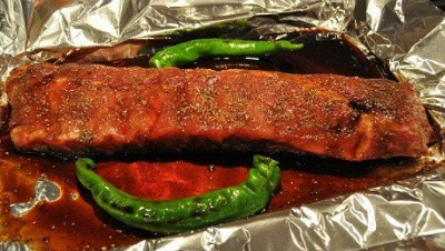 Slow-Roasted Pork Loin Ribs