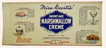Snowflake Marshmallow Creme