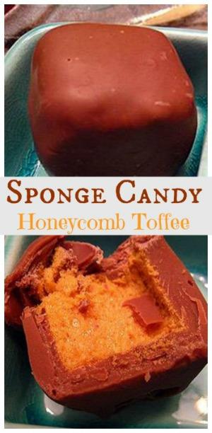 Honeycomb Toffee Recipe: