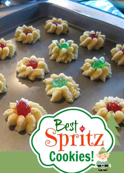 Best Spritz Cookie Recipe