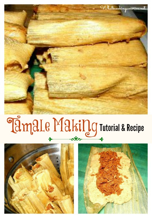 How to make tamales red chili sauce recipe