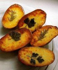 Tattooed Potatoes with Rosemary