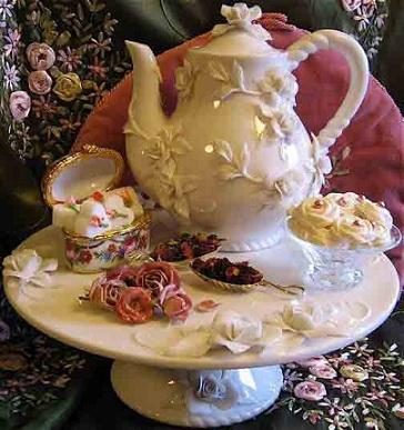 Rose Garden Tea with the queen