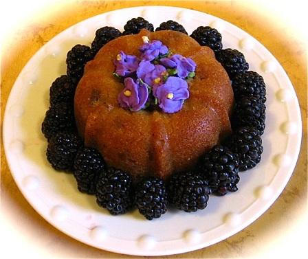 Violet Bundt Cake