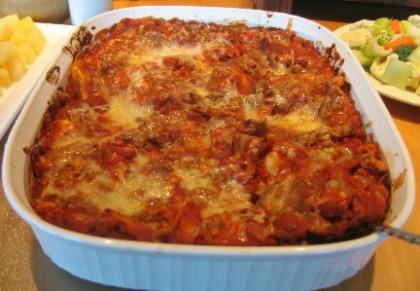 Zucchini Walnut Lasagna