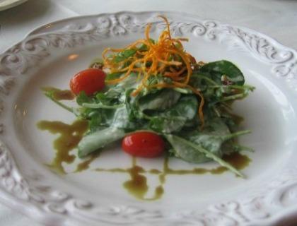 Watercress and Mushroom Salad