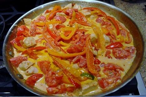 zesty Chicken Pasta
