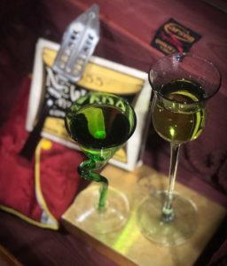 "Absinthe Glass- the ""Green Fairy"""