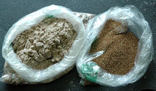 Teff flour and grain