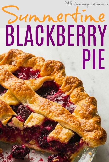 Summertime Blackberry Pie