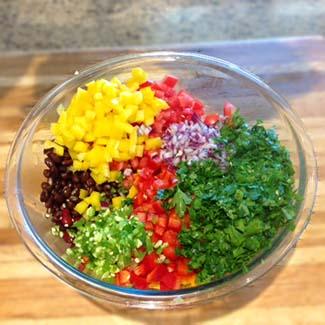 Cowboy Caviar ingredients