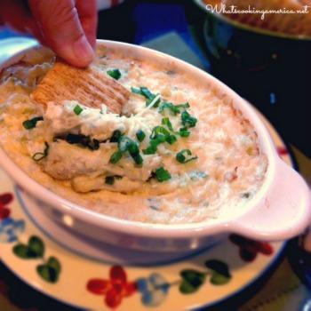 Gourmet Hot Crab Dip recipe