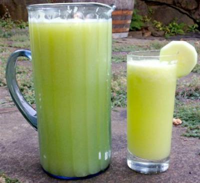 Cucumber Zucchini Agua Fresca