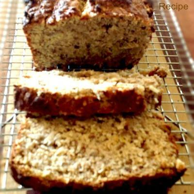 Diabetic Sourdough Banana Bread