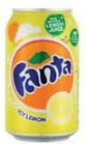 Lemon Fanta Soda Can