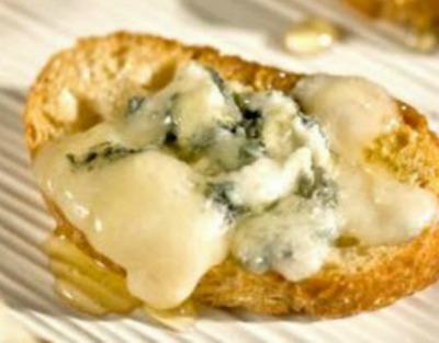 Gorgonzola and Honey Toast