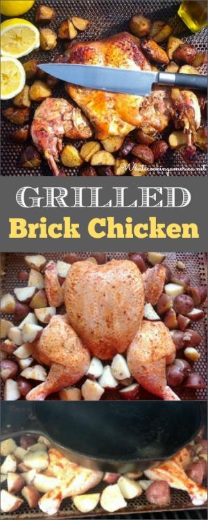 Grilled Brick Chicken