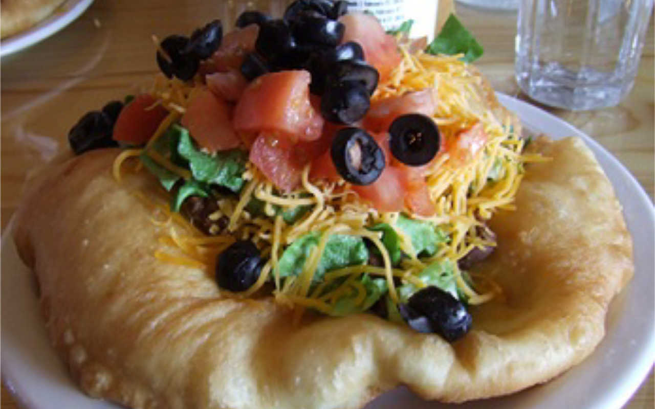 Navajo Fry Bread Indian Tacos
