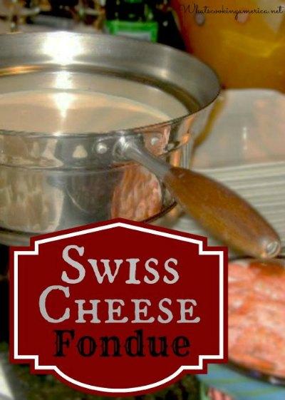 Swiss Cheese Fondue (Rheinlander Fondue)