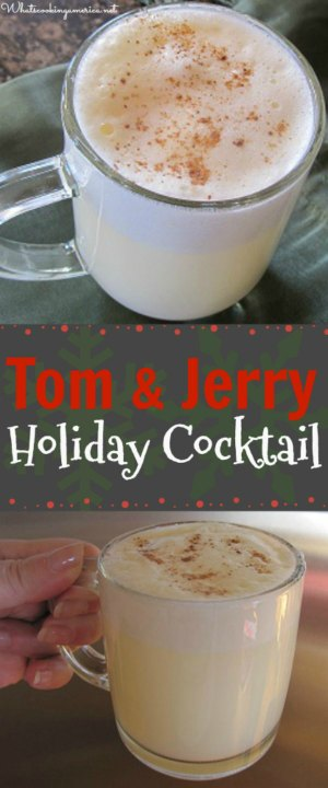 Tom and Jerry Cocktail Drink