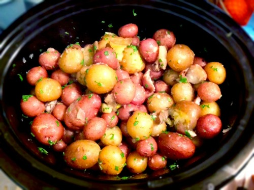 how to cook baby potatoes in slow cooker