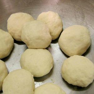 kneaded dough Balls