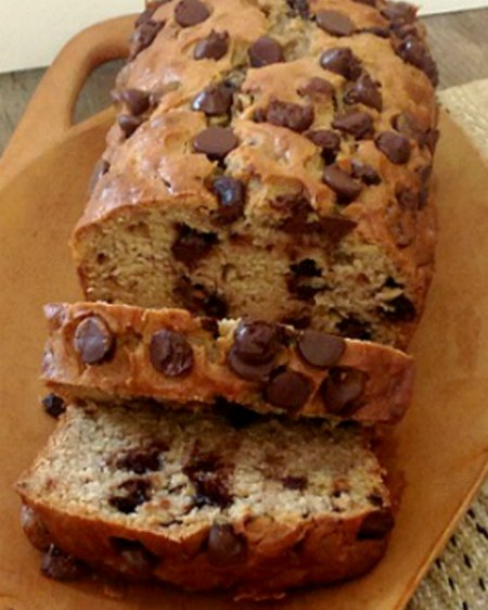 Peanut Butter Chocolate Banana Bread Recipe, Whats Cooking ...
