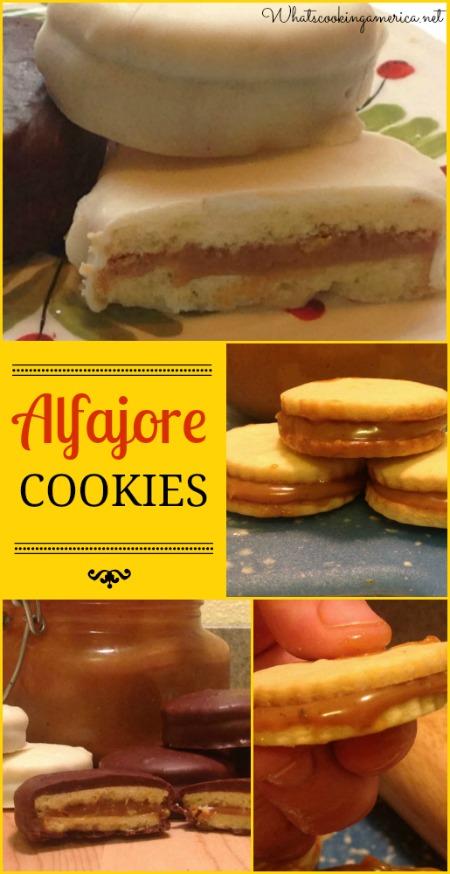 Dulce De Leche Alfajore Cookies