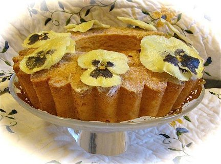 Almond Honey Pound Cake