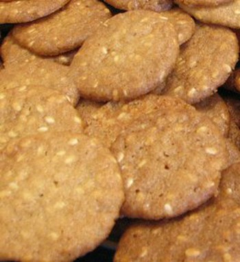 Benne Wafer Cookies
