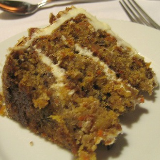 Carrot and Pineapple Cake Slice