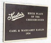 Cheeseburger Plaque