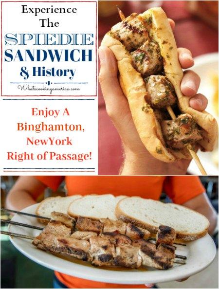 Spiedie Sandwich