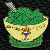 Utah Olympic Pin