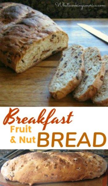Breakfast Fruit and Nut Bread _ Publix Breakfast Bread