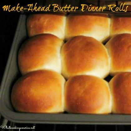 Refrigerator Butter Dinner Rolls