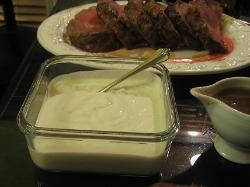Horseradish-Cream Sauce